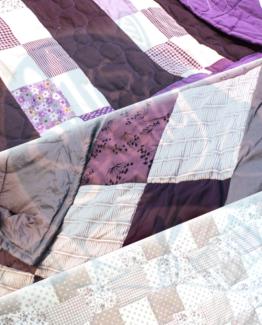 Klassische Patchwork Decken